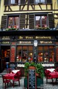 Travel photography:Restaurant in Strasbourg, France
