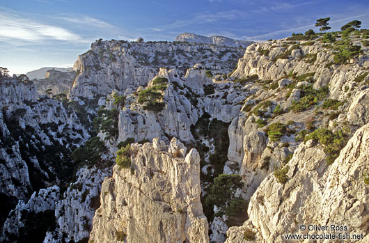 Sunset over Les Calanques de Provence