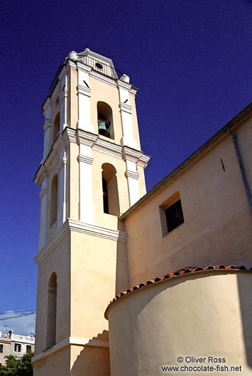 Roman Catholic Church in Cargese (Corsica)