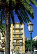 Travel photography:House in Ajaccio on Corsica, France