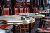 Travel photography:Café in Paris´ Montmartre district, France