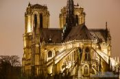 Travel photography:Paris Notre Dame cathedral, France