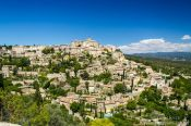 Travel photography:View of Gordes in the Luberon, France