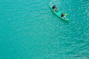 Travel photography:Paddlers at the Gorge du Verdon, France