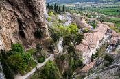 Travel photography:The village of Moustiers Sainte Marie in Provence, France