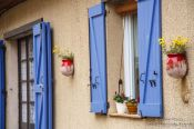 Travel photography:House in the village of Sainte Croix du Verdon, France