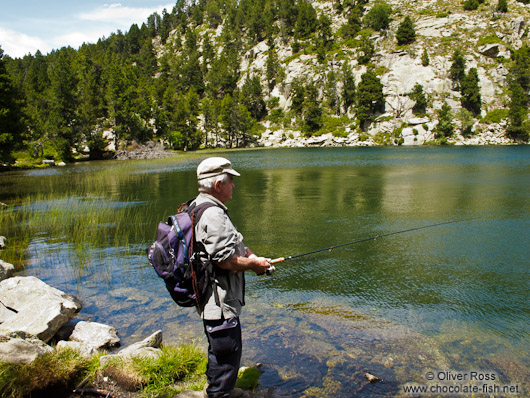 Fishing in the Lac d´Aude