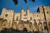 Travel photography:Former Papal residence in Avigon  , France