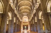 Travel photography:Inside Monaco cathedral, Monaco