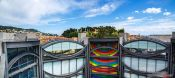 Travel photography:View from the Mamac museum in Nice, France