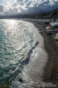 Travel photography:Nice beach, France