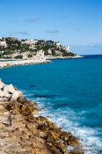 Travel photography:Nice coastline, France