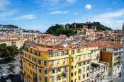 Travel photography:View over Nice, France