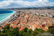 Travel photography:Nice panorama, France