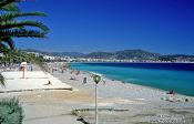 Travel photography:The bay of Nice, Côte d`Azur , France