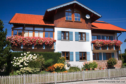 Typical house in the Allgäu