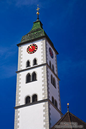 Church tower in Wangen