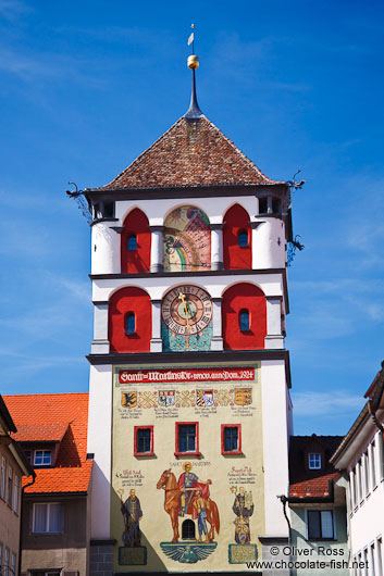 Tower above one of the Wangen city gates