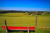 Travel photography:Typical Allgäu landscape, Germany