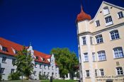 Travel photography:Houses in Isny , Germany