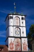 Travel photography:Old watch tower in Wangen , Germany