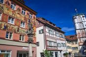 Travel photography:Houses in Wangen , Germany