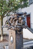 Travel photography:Sculpture in Wangen , Germany