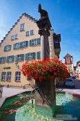 Travel photography:Fountain in Wangen , Germany