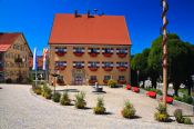 Travel photography:Main town square in Weiler , Germany