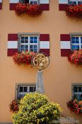Travel photography:Facade detail in Weiler , Germany