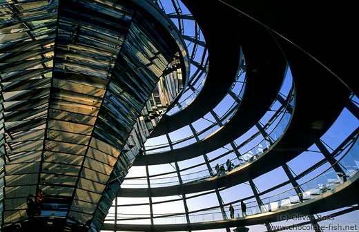 The Reichstag cupola