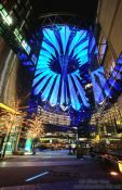 Travel photography:The Sony Centre on Potsdamer Platz in Berlin, Germany