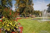 Travel photography:Park in Lindau , Germany