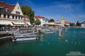 Travel photography:Lindau harbour, Germany