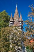 Travel photography:Rapunzel tower in Lindau , Germany