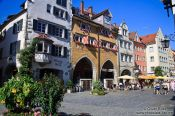 Travel photography:Lindau houses, Germany