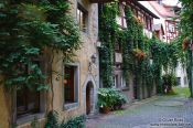 Travel photography:Meersburg alley, Germany
