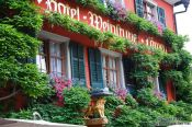 Travel photography:Meersburg hotel, Germany