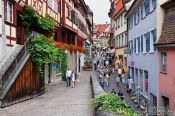 Travel photography:Street in Meersburg , Germany