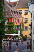 Travel photography:Meersburg houses, Germany