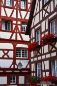 Travel photography:Half-timbered houses in Meersburg , Germany