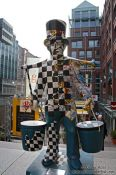 Travel photography:Hummel Sculpture in Hamburg, Germany