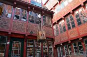 Travel photography:Old market in Hamburg, Germany