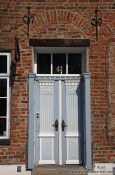 Travel photography:Door in Lübeck, Germany