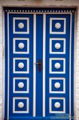 Travel photography:Wooden door in Lübeck, Germany
