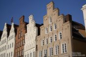 Travel photography:Old merchant houses in Lübeck, Germany
