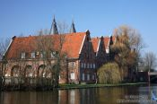 Travel photography:Lübeck river view, Germany