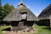 Travel photography:18th century Frisian stable, Germany
