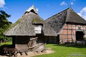 Travel photography:Typical 18th century Frisian houses, Germany