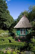 Travel photography:Small 18th century garden house, Germany
